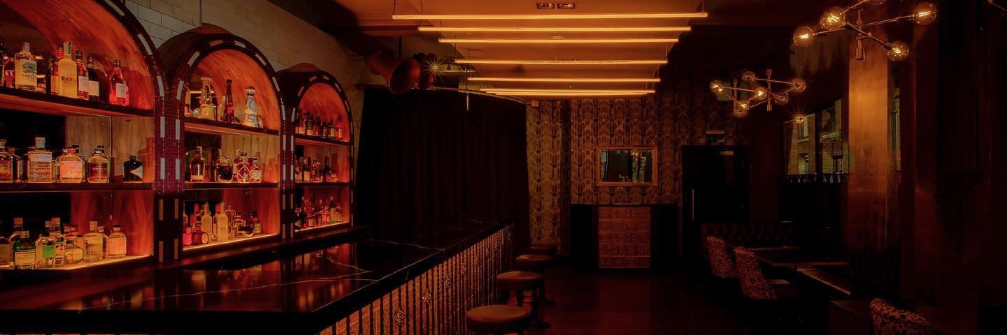 Inside Rendition, a Modern British restaurant and bar on Deansgate in Manchester city centre.