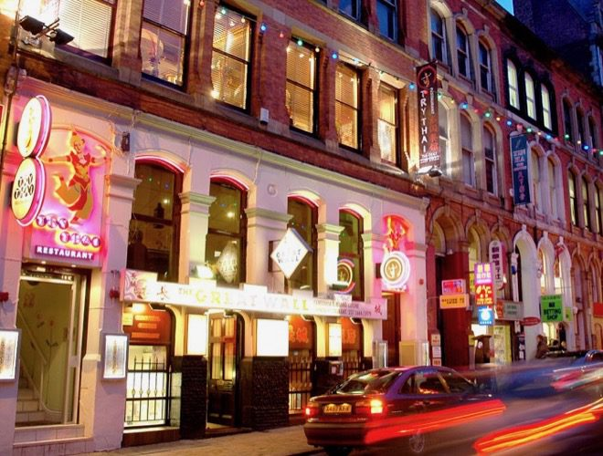 Try Thai in Manchester's Chinatown at night