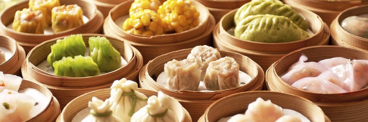 Dim sum served at the Little Yang Sing, an acclaimed Chinese restaurant in Manchester city centre.