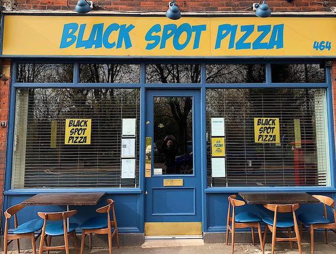Black Spot Pizza Restaurant Stockport