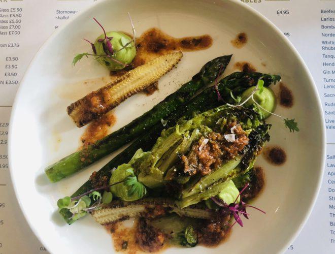 a dish on the menu at Salt house liverpool tapas