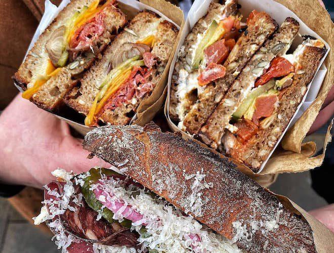 3 hands deli sandwiches